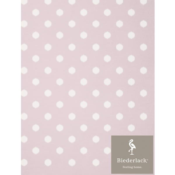 Детский плед Biederlack Lovely and Sweet DOTS rose