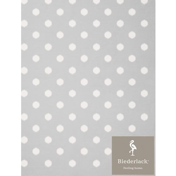 Детский плед Biederlack Lovely and Sweet DOTS silver